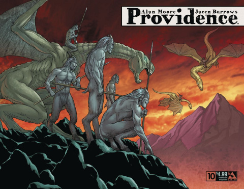 Providence #10 (Dreamscape Wrap Cover)