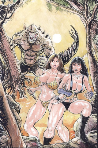 Cavewoman: Apex Predator (Massey Cover)