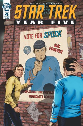 Star Trek: Year Five #4 (Thompson Cover)