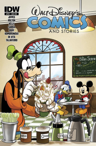 Walt Disney's Comics and Stories #721 (Subscription Cover)