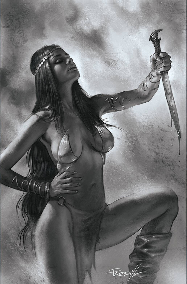 Dejah Thoris #12 (50 Copy Parrillo B&W Virgin Cover)
