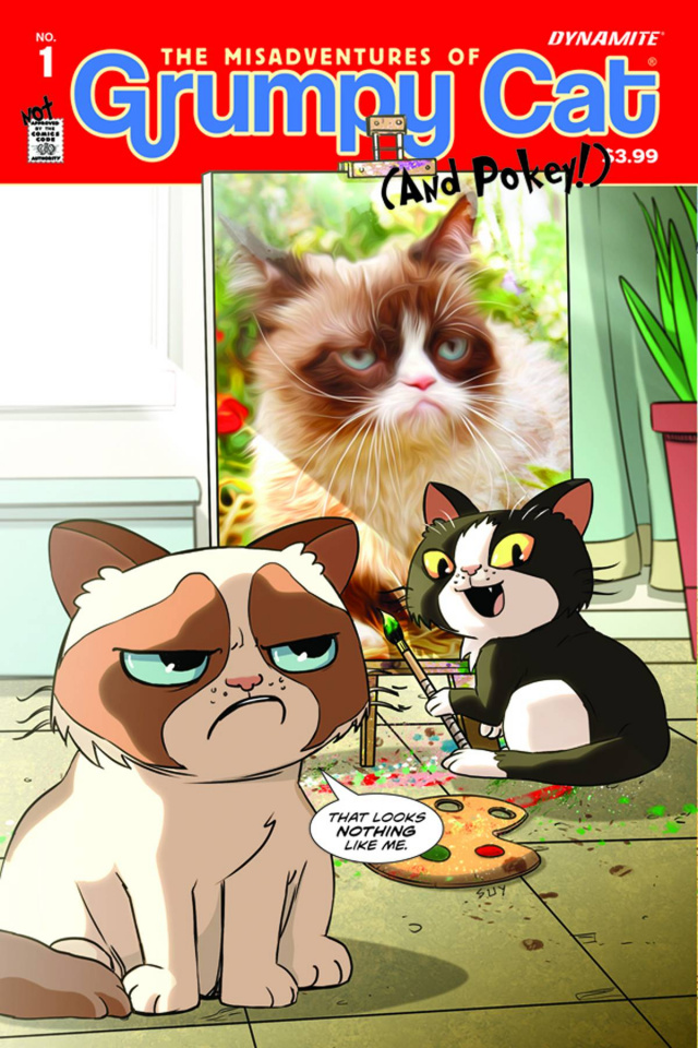 Grumpy Cat #1 (Uy Art & Photo Cover)