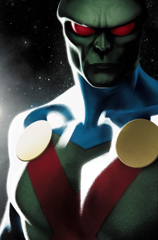 Martian Manhunter #4 (Variant Cover)
