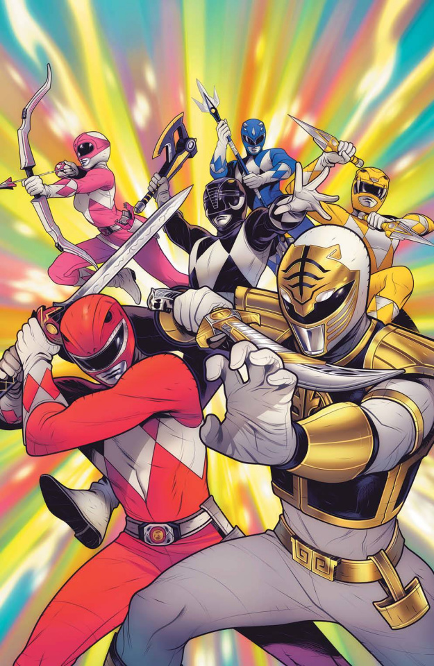 Mighty Morphin #11 (Reveal 10 Copy Cover)