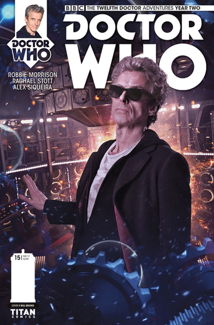 Doctor Who: New Adventures with the Twelfth Doctor, Year Two #15 (Photo Cover)
