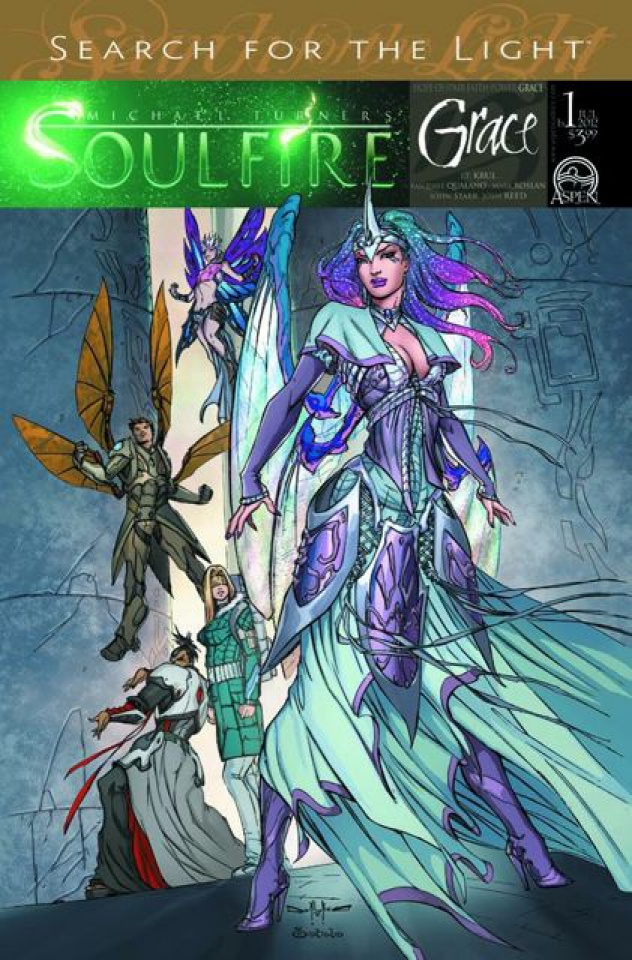 Soulfire: Grace #1 (Qualano Cover)