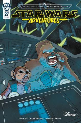 Star Wars Adventures #27 (10 Copy Bracchi Cover)