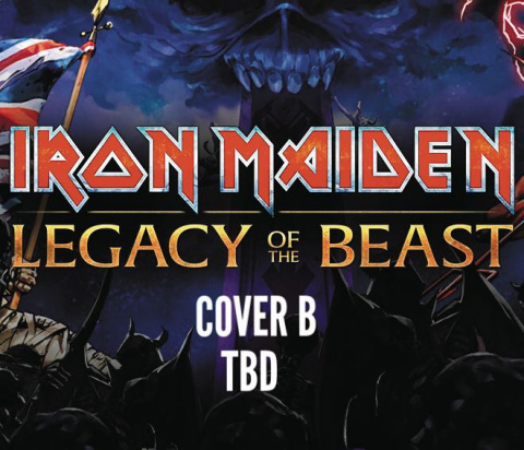 Iron Maiden: Legacy of the Beast #3 (Cover B)