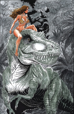 Cavewoman: Starship Blish #2 (Durham Cover)