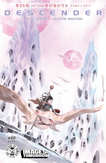 Descender #22 (Images of Tomorrow Cover)