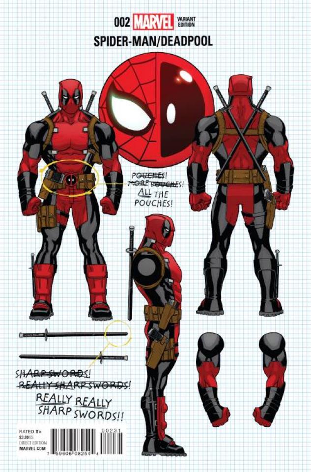 Spider-Man / Deadpool #2 (Build Your Own Deadpool Cover)