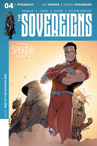 The Sovereigns #4 (Trevino Cover)