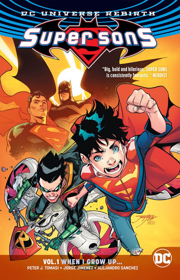 Super Sons Vol. 1: When I Grow Up (Rebirth)