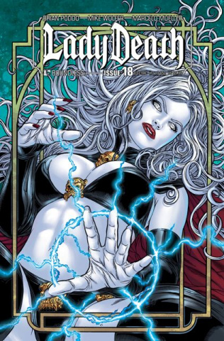 Lady Death #18 (Electric Cover)