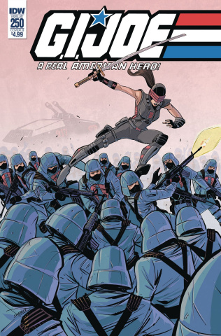 G.I. Joe: A Real American Hero #250 (Shearer Cover)