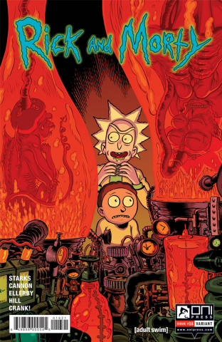 Rick and Morty #16 (Nixey Cover)