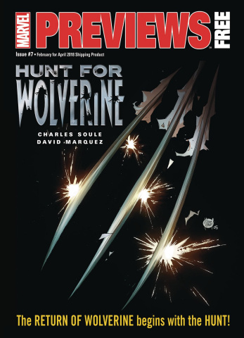 Marvel Previews #7: February 2018 Extras