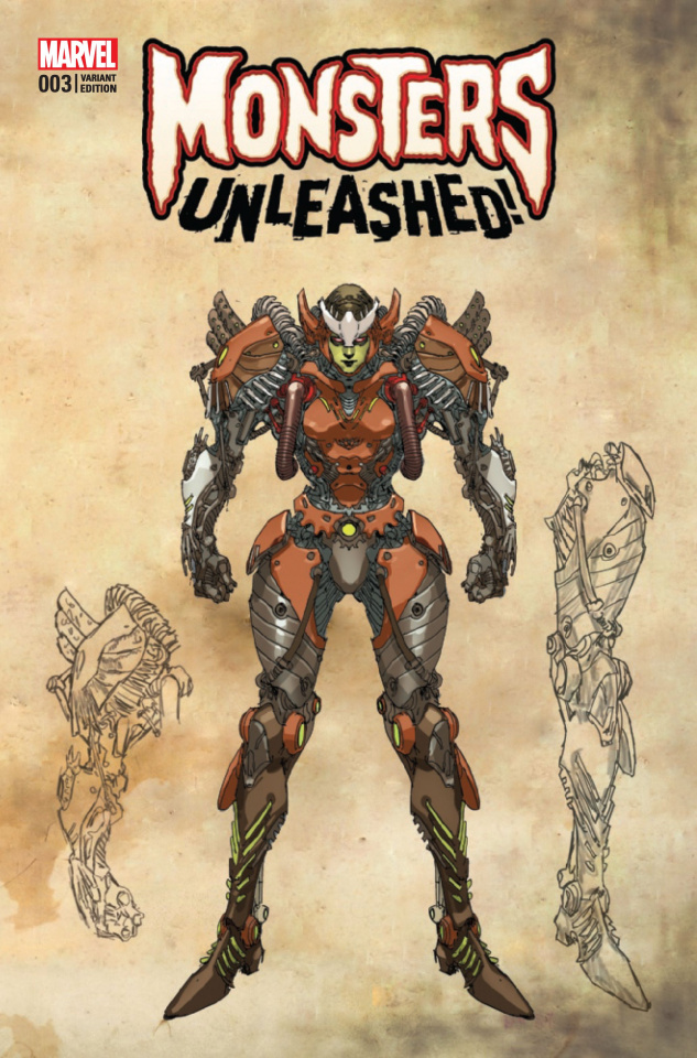 Monsters Unleashed! #3 (Yu Monster Cover)