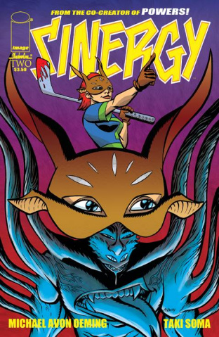 Sinergy #2 (Oeming Cover)
