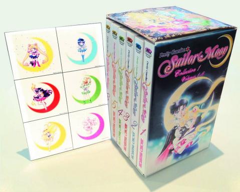 Sailor Moon: Kodansha Box Set Vols. 1-6