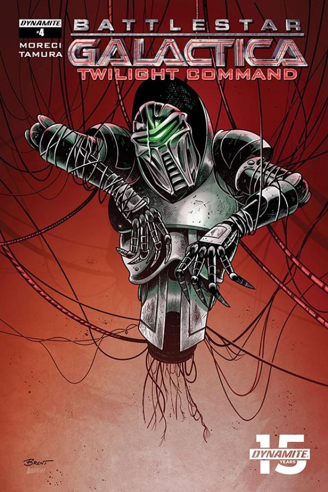 Battlestar Galactica: Twilight Command #4 (Schoonover Cover)