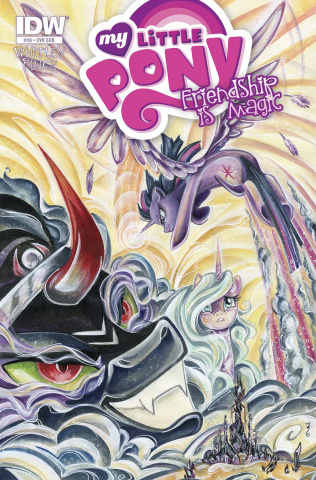 My Little Pony: Friendship Is Magic #36 (Subscription Cover)