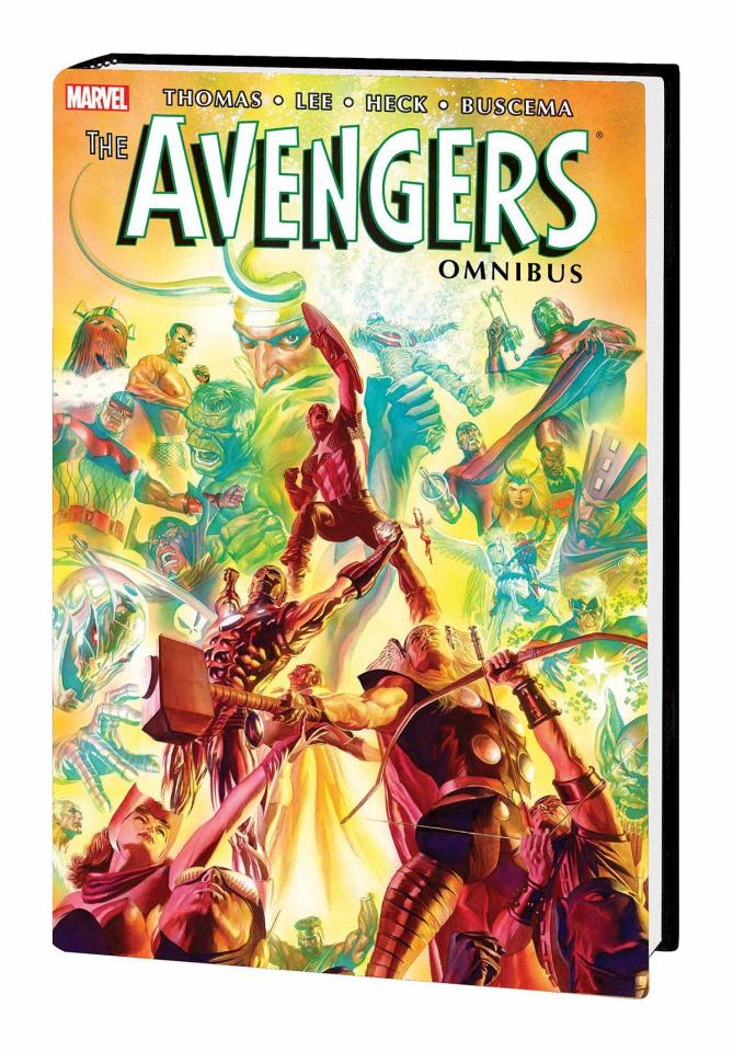 Avengers Vol. 2 (Ross Cover)