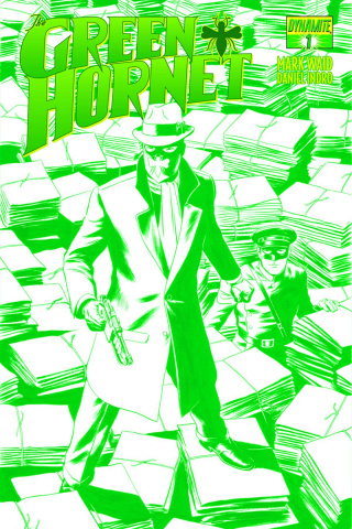 The Green Hornet #1 (Green Cover)