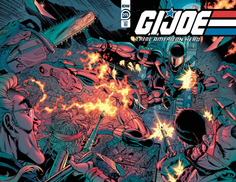 G.I. Joe: A Real American Hero #275 (10 Copy Royle Cover)