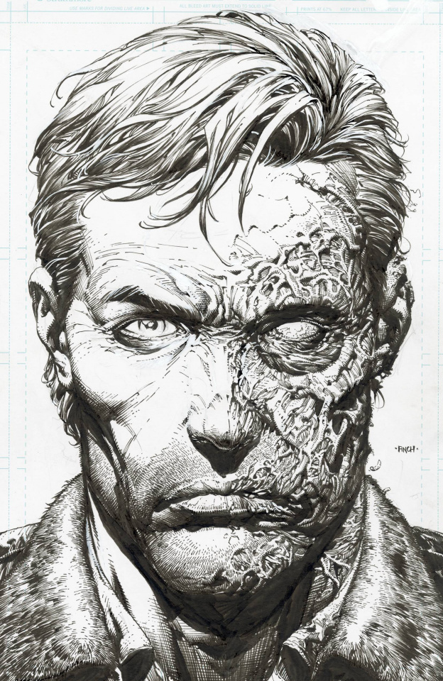 The Walking Dead Deluxe #1 (Finch & McCaig 25 Copy Raw Cover)