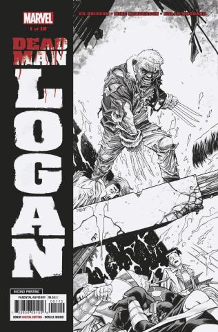 Dead Man Logan #1 (Henderson 2nd Printing)