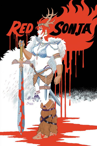 Red Sonja #4 (Conner Virgin Cover)