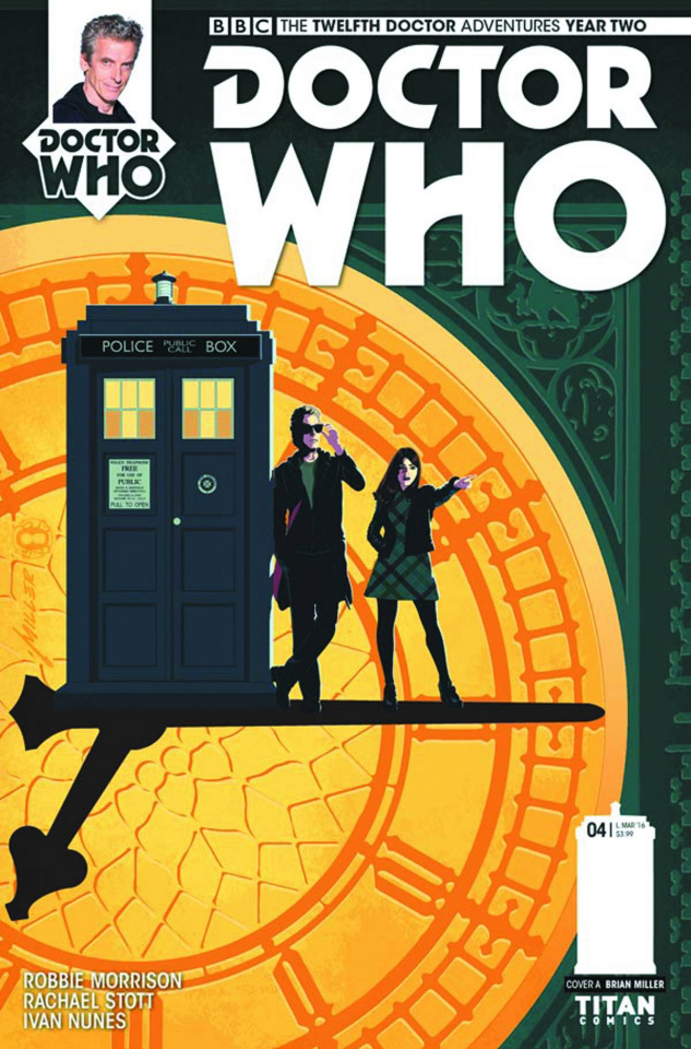 Doctor Who: New Adventures with the Twelfth Doctor, Year Two #4 (Miller Cover)