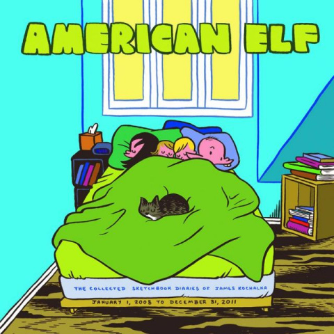 American Elf Vol. 4: The Sketchbook Diaries of James Kochalka