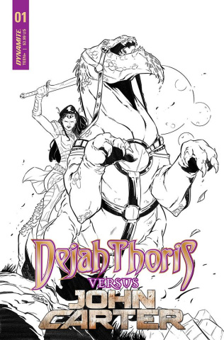 Dejah Thoris vs. John Carter of Mars #1 (10 Copy Cover)