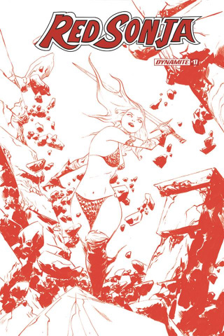 Red Sonja #17 (21 Copy Lee Tint Cover)