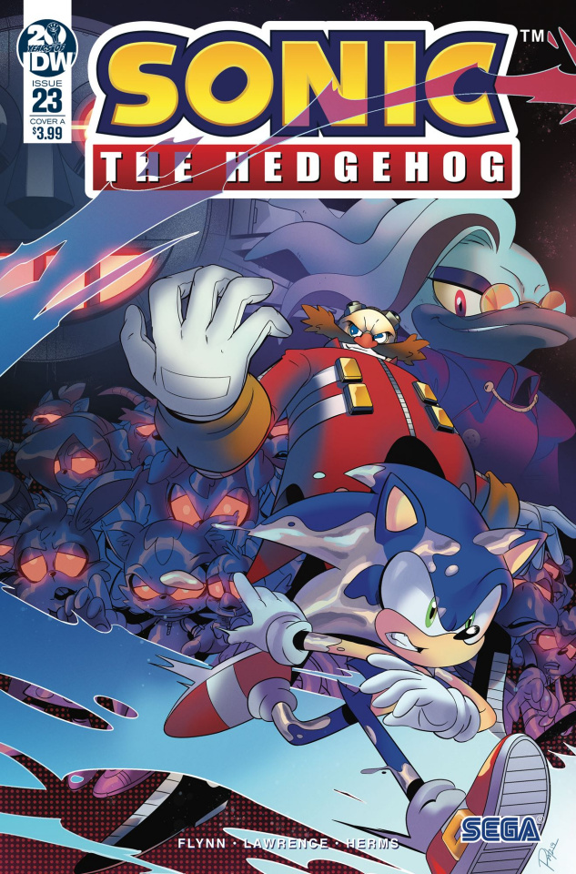 Sonic the Hedgehog #23 (Tramontano Cover)