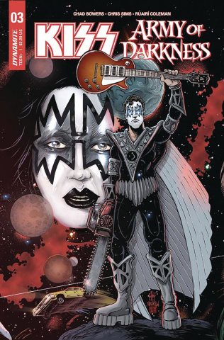 KISS / Army of Darkness #3 (Haeser Cover)
