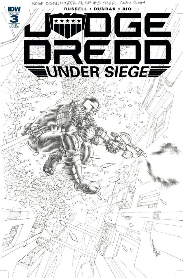 Judge Dredd: Under Siege #3 (15 Copy Quah Cover)