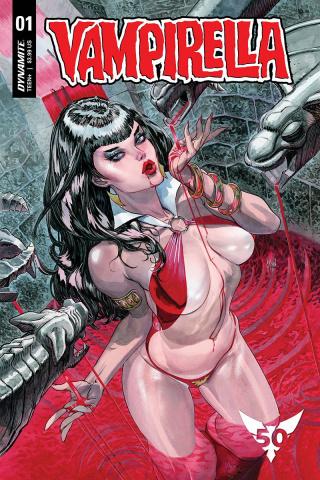 Vampirella #1 (March Cover)