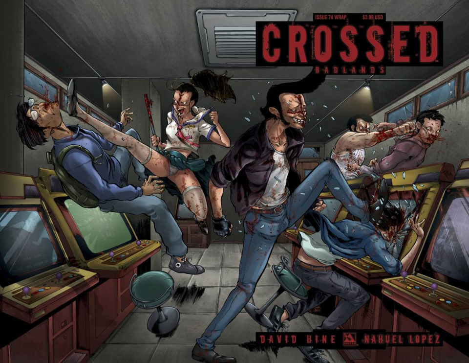 Crossed: Badlands #74 (Wrap Cover)