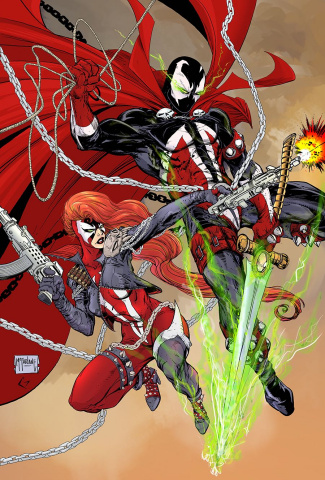Spawn #302 (Virgin McFarlane Cover)