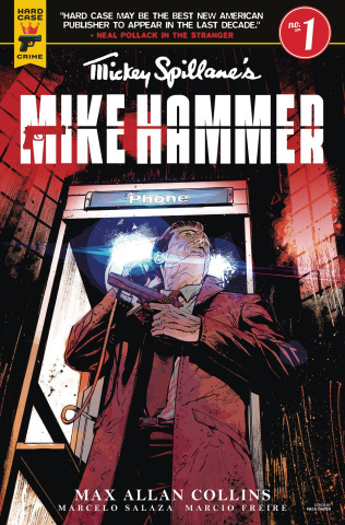 Mike Hammer #1 (Chater Cover)