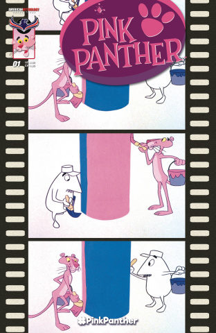 The Pink Panther #1 (Retro 3 Copy Cover)