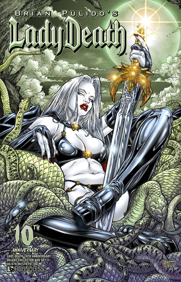 Lady Death #1 (10th Anniversary Deluxe Collector Box Set)