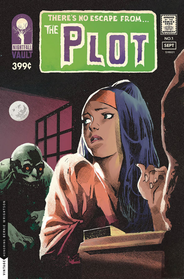 The Plot #1 (Cover B)