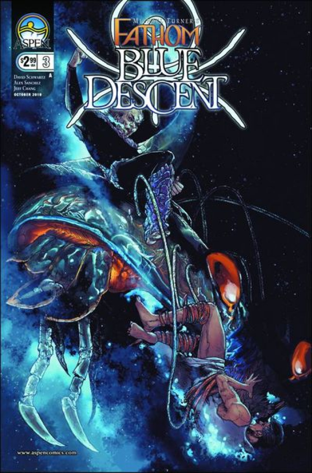 Fathom: Blue Descent #3 (Sanchez Cover)