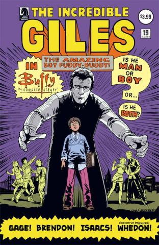 Buffy the Vampire Slayer, Season 10 #19 (Isaacs Cover)