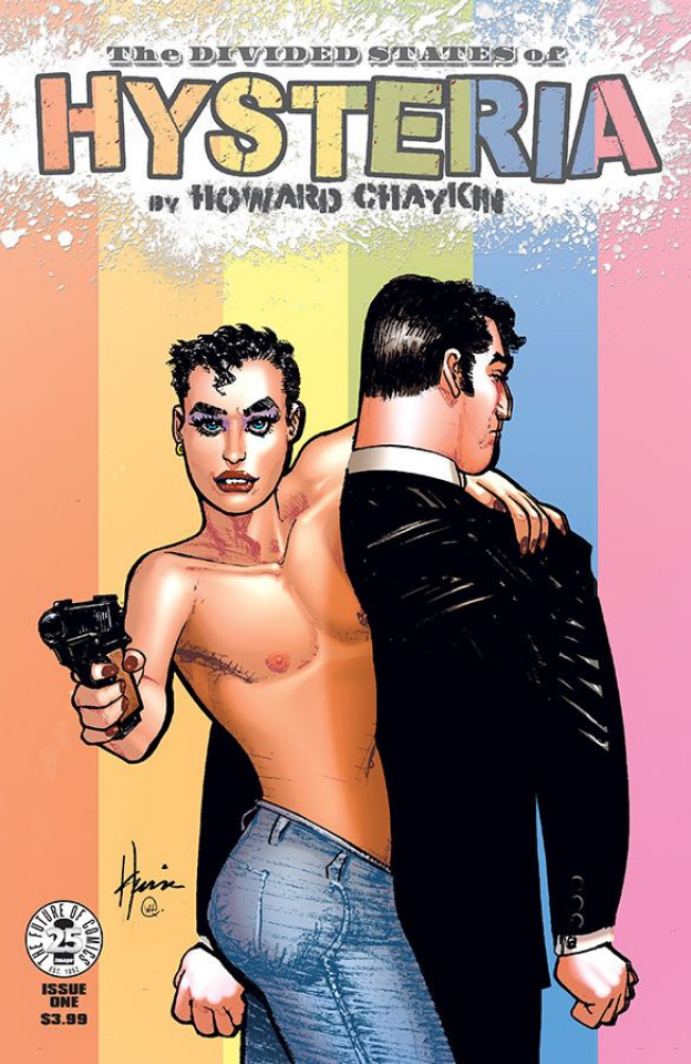 The Divided States of Hysteria #1 (Pride Month Cover)