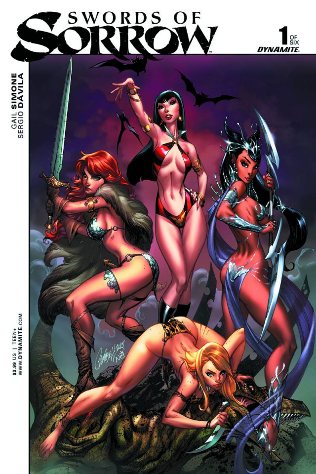 Swords of Sorrow #1 (Campbell Cover)